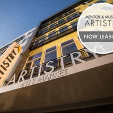 Rental info for Mentor & Muse At Artistry