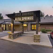 Rental info for Alta Springs in the Hampden area