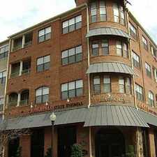 Rental info for Manchester State Thomas Brownstones in the Dallas area