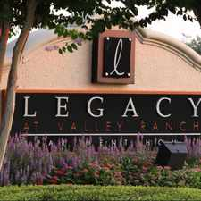 Rental info for Legacy at Valley Ranch
