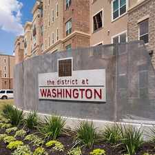 Rental info for The District at Washington