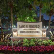Rental info for The Lakes At Pembroke