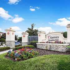 Rental info for Century Champion's Gate