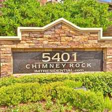 Rental info for 5401 Chimney Rock in the Bellaire area
