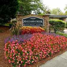 Rental info for Mallard Creek in the University City North area