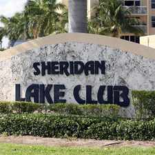 Rental info for Sheridan Lake Club in the Hollywood area