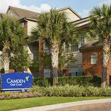 Rental info for Camden Oak Crest in the Houston area