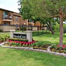 Rental info for Wooded Creek Apartments