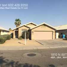 Rental info for 1810 N 88TH Ave