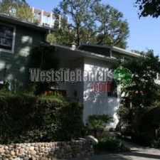 Rental info for Prime Santa Monica Canyon House
