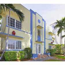Rental info for 600 Euclid Ave, #B4 42, Miami-Dade County #B4