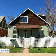 Rental info for 1611 Spruce Street