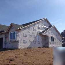 Rental info for Brand new 4 bedroom 3 bath one level with finished walkout lower level. Single Car Garage!