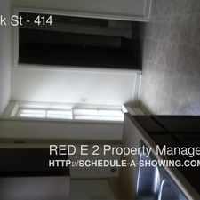 Rental info for 412-414 Park St