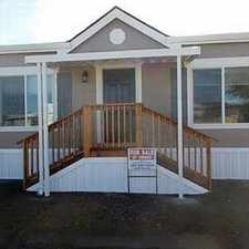 Rental info for Mobile/Manufactured Home Home in White city for Owner Financing