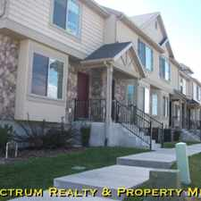 Rental info for 3 Bedroom 2 1/2 Bath LUXURY Townhomes For Rent in Provo!