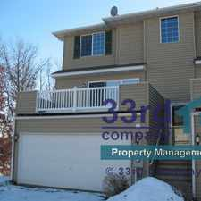 Rental info for 4951 Grenwich Avenue North in the 55128 area