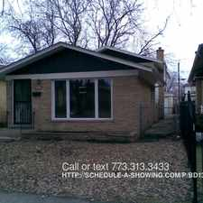 Rental info for 11637 S. Justine in the Morgan Park area