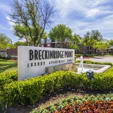 Rental info for Breckinridge Point in the Richardson area