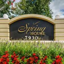 Rental info for Springhouse Apartment Homes