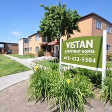 Rental info for Vistan Apartments