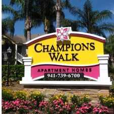 Rental info for Champions Walk