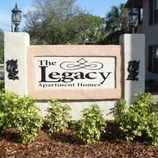 Rental info for Legacy Apartments