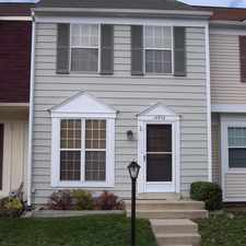 Rental info for Lovely 3-Lvl, 3 BR, 2 BA Townhome in Centreville