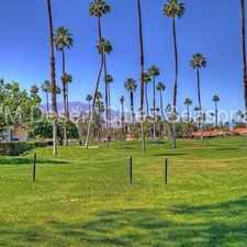 Rental info for Seasonal - Beautiful Rancho Las Palmas in the Rancho Mirage area