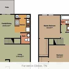 Rental info for 2 bedrooms Townhouse - Nestled in a quiet setting in beautiful Anderson County.