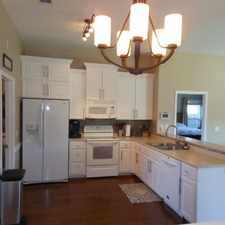 Rental info for True four bedroom-split plan.