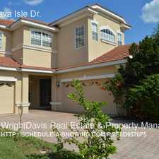 Rental info for 18039 Java Isle Dr.