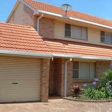 Rental info for 2 Bedroom Townhouse in the Wollongong area