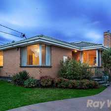 Rental info for PEACEFUL COURT SETTING, ALLURING FAMILY FUTURE in the Dandenong North area