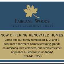 Rental info for Fairlane Woods Apartments in the 48128 area