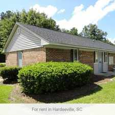 Rental info for Hardeeville, prime location 2 bedroom, Apartment. $480/mo