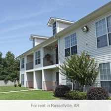 Rental info for Pet Friendly 2+1 Apartment in Russellville