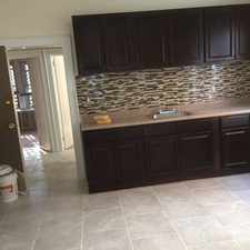 Rental info for Newly renovated spacious 3 bedroom apt h/hw inc in the 07018 area