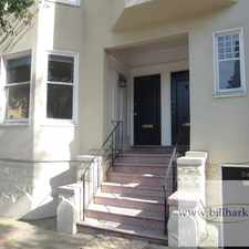 Rental info for 3163 Sacramento Street in the Lower Pacific Heights area