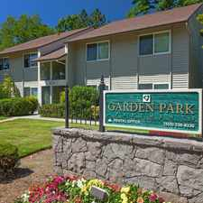 Rental info for Garden Park in the Portland area