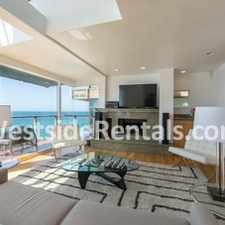 Rental info for Tri-Level Architectural on Las Tunas Beach