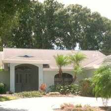 Rental info for Beautiful Venice Pool Home On Preserve!