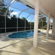 Rental info for Palm Coast - Large custom four bedroom.