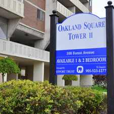 Rental info for Oakland Square Two in the Hamilton area