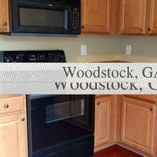 Rental info for Pet Friendly 2+2.50 Townhouse in Woodstock. Pet OK!
