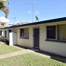 Rental info for :: RE-FURBISHED NEAT, TIDY CUTE UNIT CLOSE TO CBD in the Gladstone area