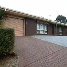 Rental info for TENANT SECURED - NO MORE APPLICATIONS. OPEN CANCELLED! in the Adelaide area