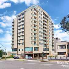 Rental info for WALDORF ROSEHILL STUDIO APARTMENT in the Rosehill area