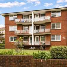 Rental info for Modern north facing top floor apartment in the Crows Nest area