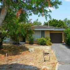 Rental info for 3x1 Older style 70's home on huge block of land in the Perth area
